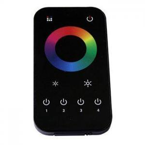 RGB Touch Wheel Remote Control (front)